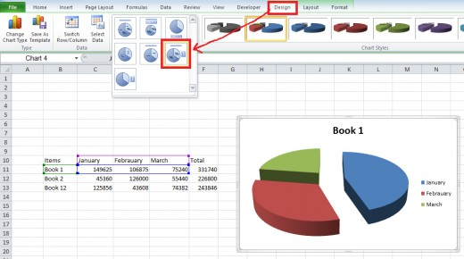 Create Percentage Pie Chart In Excel: How to show the Percentage along with the Pie Chart in Excel ,Chart