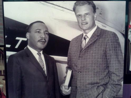 Dr. Martin Luther King Jr. & Evangelist Billy Graham