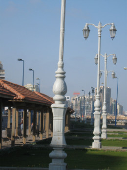 Beautiful Street Lights on the Promenade