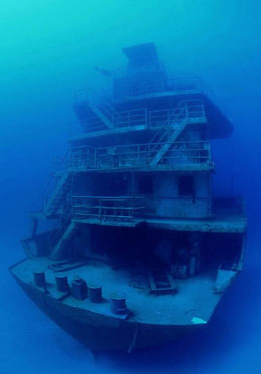 The Odyssey off the Honduras