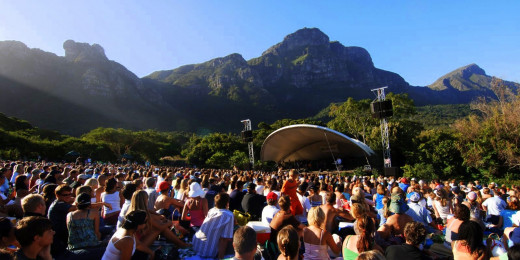 The Kirstenbosch Summer Concerts are a great way to spend a sunny evening in Cape Town