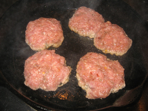 Breakfast Sausage - with garlic and onion