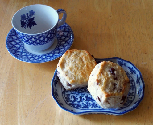 Scones are a great accompaniment to tea. Now all that's needed is the perfect cup o' tea.
