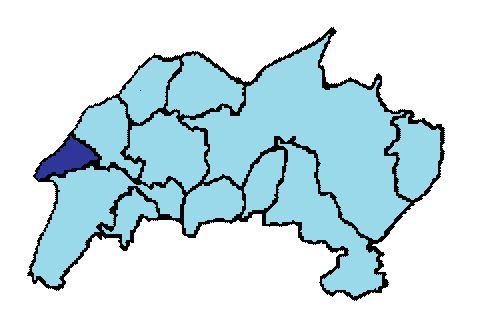 Map location of Wellen, Konz district