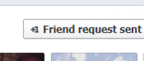 When sending a friend request, choose which list they are in.