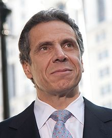 The current Governor of New York and one who has a rich political family history.