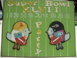 How to create a Super Bowl Party Invitation