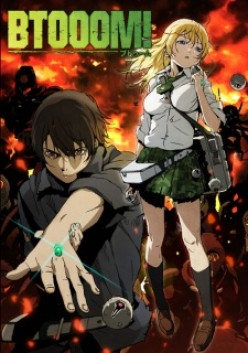 "Anime Review: Btooom! ""Like Battle Royale with a bit more Hope"""