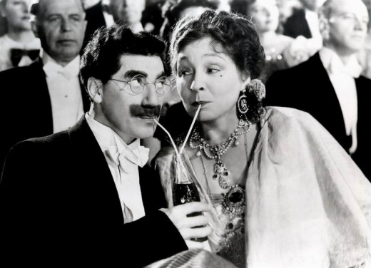 Groucho with Margaret Dumont in At the Circus (1939)