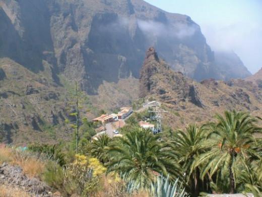 The mountain village of Masca
