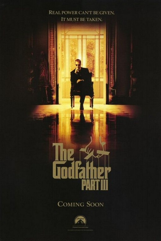 The Godfather Part III Movie Poster