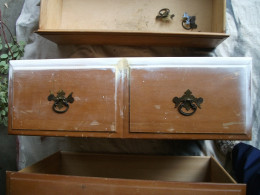 repair made to top drawer