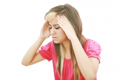 A headache is one symptom of carbon monoxide poisoning.