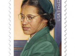 Rosa Parks Forever Stamp Issued on her 100th Birthday, February 4, 2013