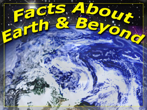 Facts about the earth and the sky around it.