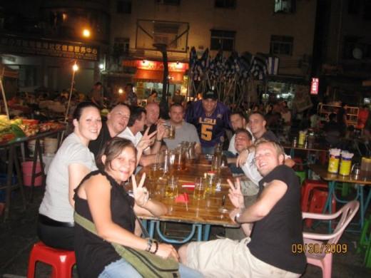 Friends in Shenzhen