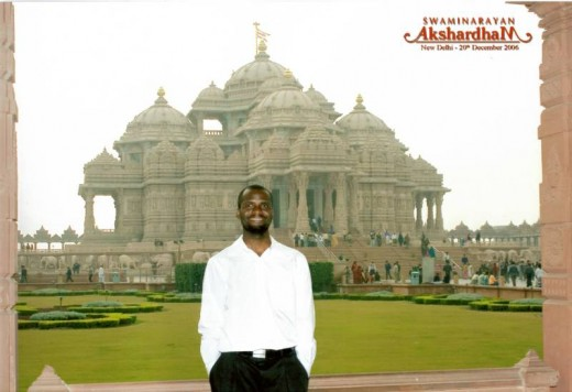 Awesome it is, this is a real temple in India.