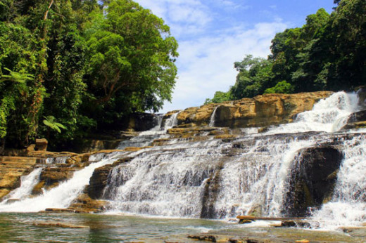 The cascading waterfalls of Tinuy-an