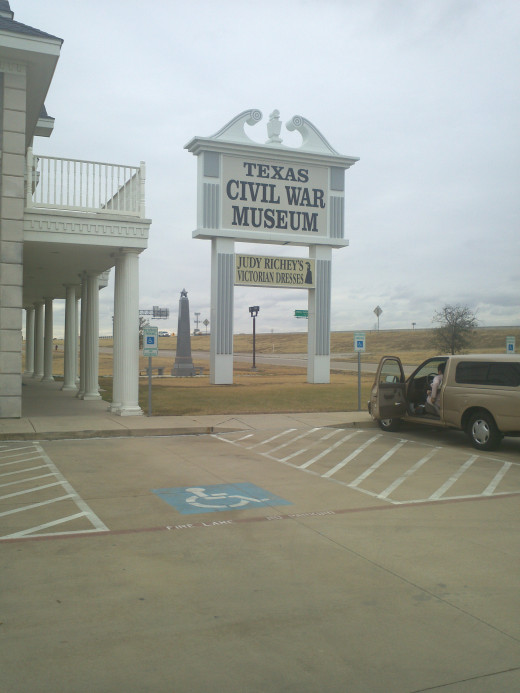 Entrance to the Texas Civil War Museum