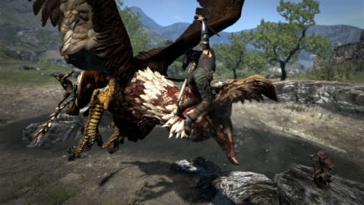 It takes a more than just sword swings to bring down monsters in Dragon's Dogma.