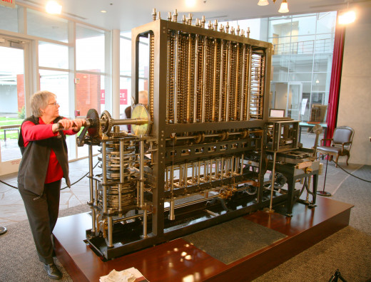 In 1822, Charles Babbage laid down plans for a mechanical computer calculating machine that he called a difference engine. This was the first true analog computer. We have come a long way since.