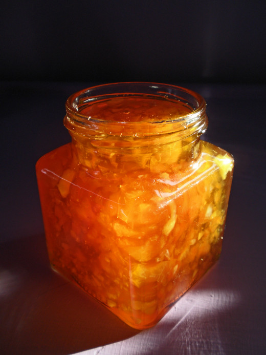 This photo shows a jar of marmalade. I photographed the process of making Caledonian Cream especially for this hub, but for some reason can't upload the picture, so this picture is standing in till I can post my own.