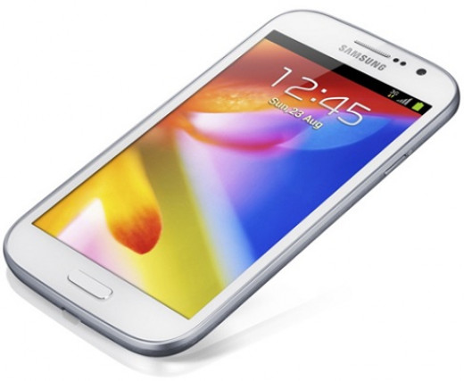Samsung Galaxy Grand Launch Pic. Samsung is a good brand name but they need to make the price of their phones reasonable.