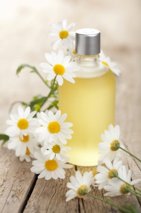 chamomile is soothing and calming to the skin. Ideal for treating psoriasis and eczema.