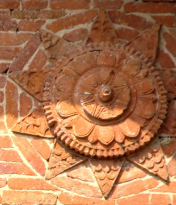 Terracotta in Islamic structures of West Bengal