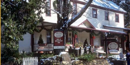 """Once the former """"Robinson Inn"""""""
