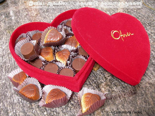 Sweeten your relationship by gifting chocolates!