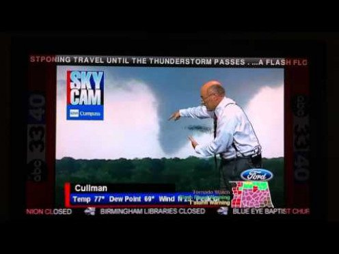 The Rockstar of Meteorology himself, James Spann