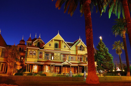 There are all kinds of strange and unusual things going on at the Winchester Mystery House. There are reports of paranormal activity and ghosts almost every day.