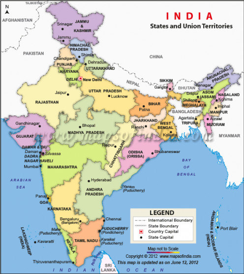 India's Political Map