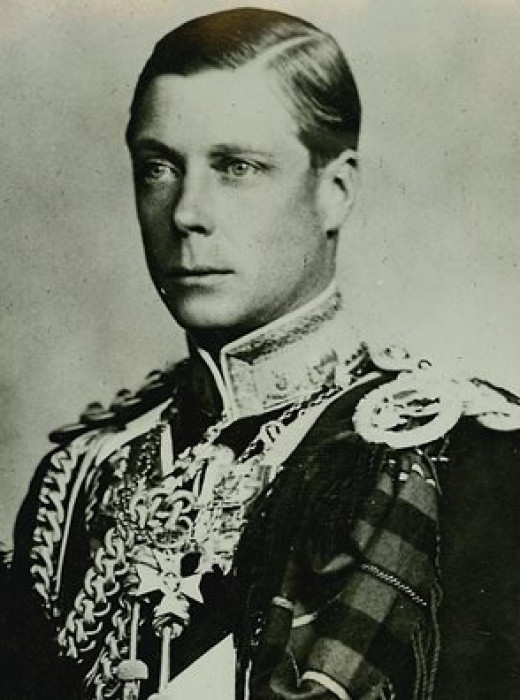 Image source: King Edward VIII public domain