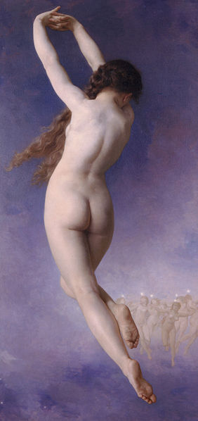 http://en.wikipedia.org/wiki/File:William-Adolphe_Bouguereau_(1825-1905)_-_Lost_Pleiad_(1884).jpg