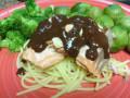 A Gluten Free Mexican Salmon Spaghetti Recipe