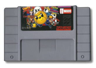 Super 4 in 1 SNES cartridge