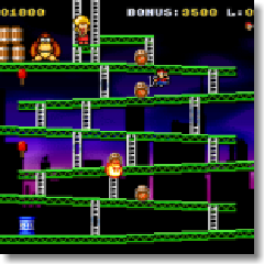 Classic Kong SNES Screenshot