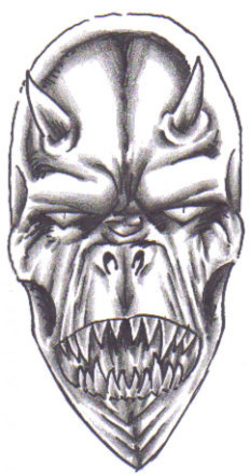 Demon Tattoo Drawings