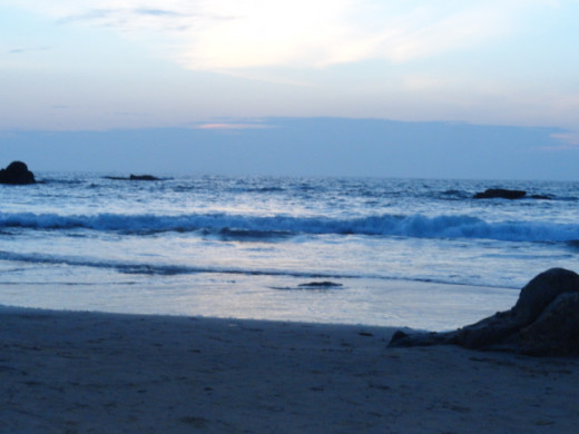 Sea and the special feel of sea around .......