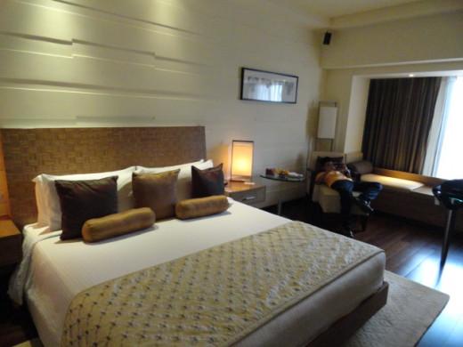 Our room at Taj Vivanta