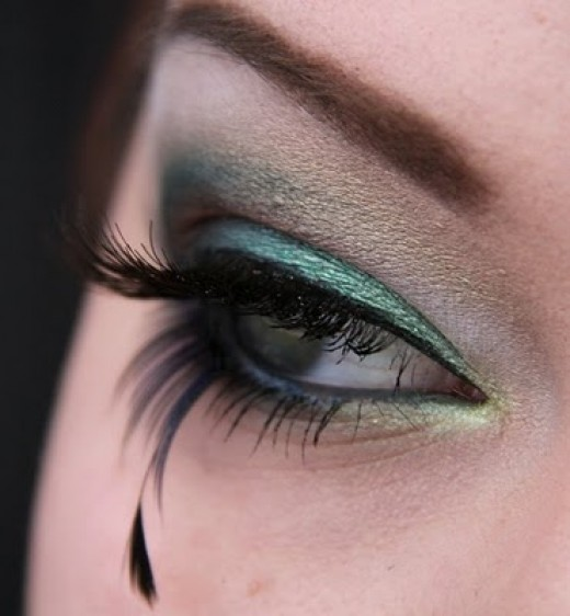 Another interesting eye makeup