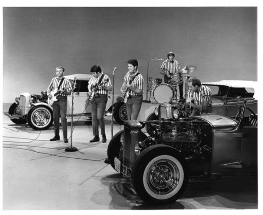 The Beach Boys on the Ed Sullivan Show