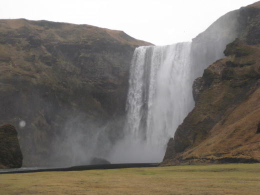The drive to any of Iceland's glaciers will be filled with other scenery, including numerous waterfalls.