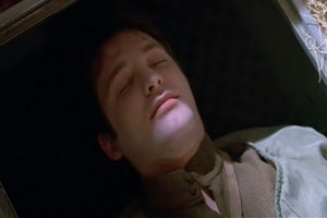 Tracey was Mal and Zoe's war buddy who featured in episode 12. Here he looks dead, but appearances can be deceptive.