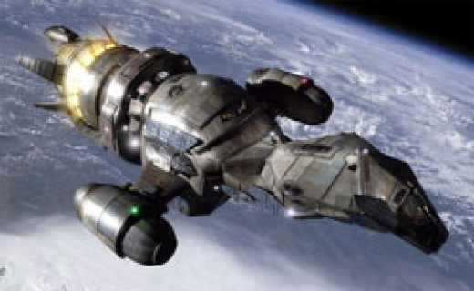 In many ways, this Firefly Class ship known as Serenity is the main character of the show..