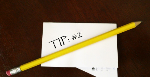 white paper and pencil tip 2