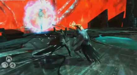 DMC Devil May Cry defeat the monsters at the arena in the furnace of souls to get to the demon king.