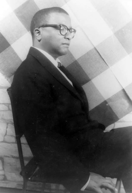 A 1958 photo of songwriter Billy Strayhorn by photographer Carl Van Vechten.